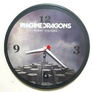 IMAGINE DRAGONS - NIGHT VISIONS -12IN WALL CLOCK